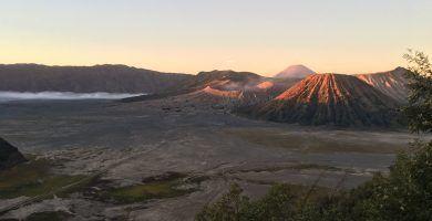 Amanece en Monte Bromo