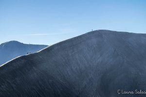 Borde del cráter