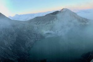 crater Volcan Ijen