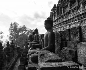 1º nivel del Borobudur