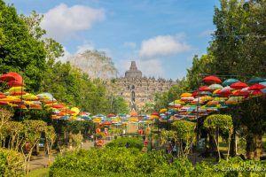 Entrada a Borobudur