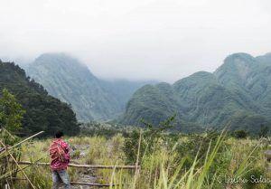tras la niebla el Merapi