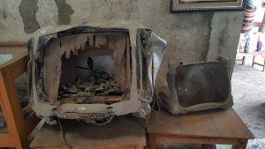 tv fundida