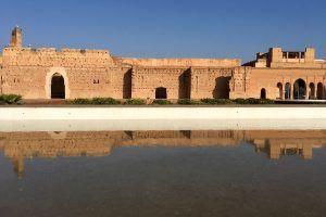 Palacio El Badi patio principal