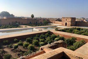Palacio El Badi vistas terraza