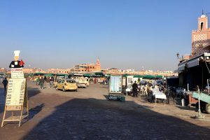 Plaza Jemaa el Fna de dia