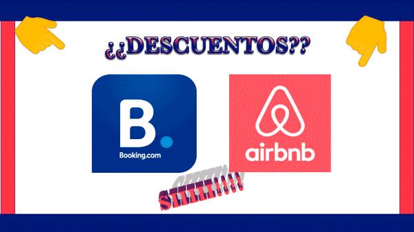 DESCUENTOS BOOKING Y AIRBNB