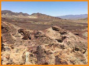 calico desierto de Mojave