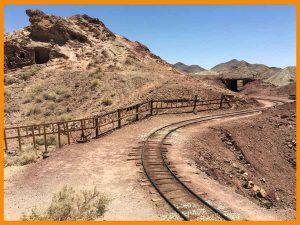 calico tren minero