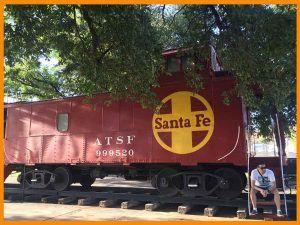 locomotora Santa Fe