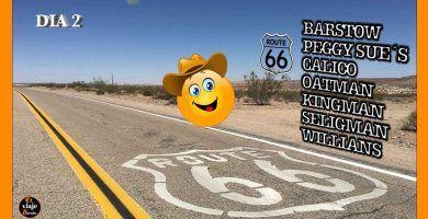 Barstow a Willians ruta 66