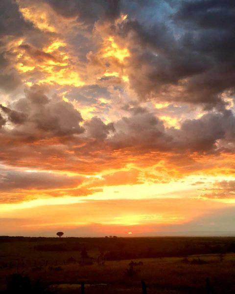 amanecer Masai Mara