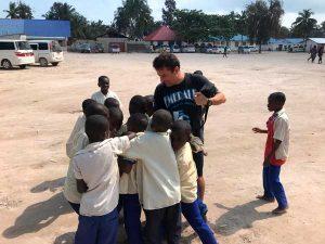 niños en Africa
