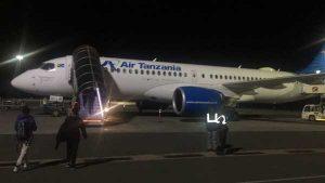 vuelo Air Tanzania