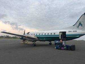 vuelo Zanzibar Dar es Salaam